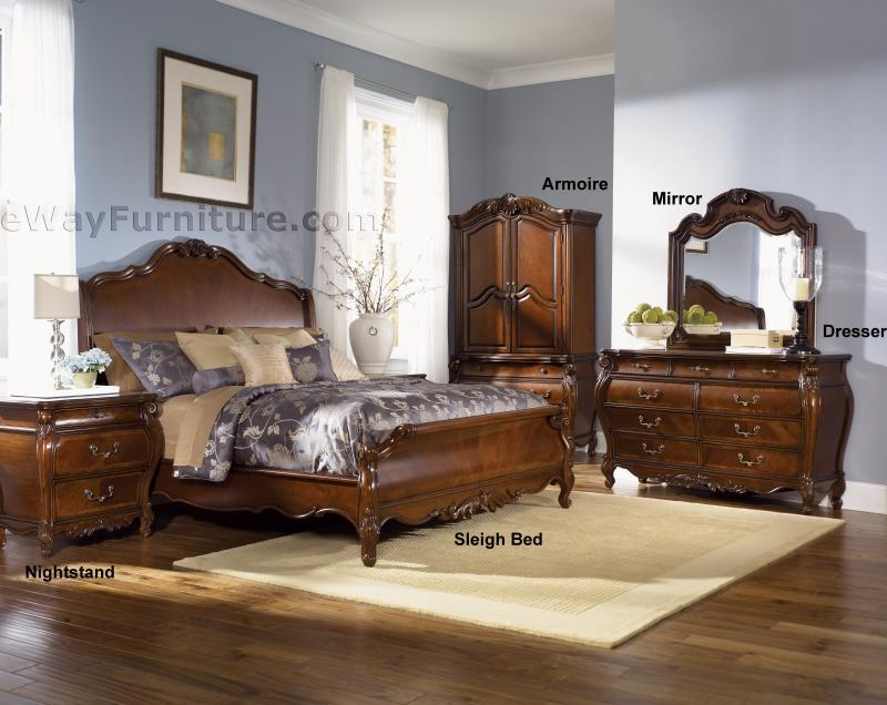 Royal Orleans Sleigh Bedroom Set