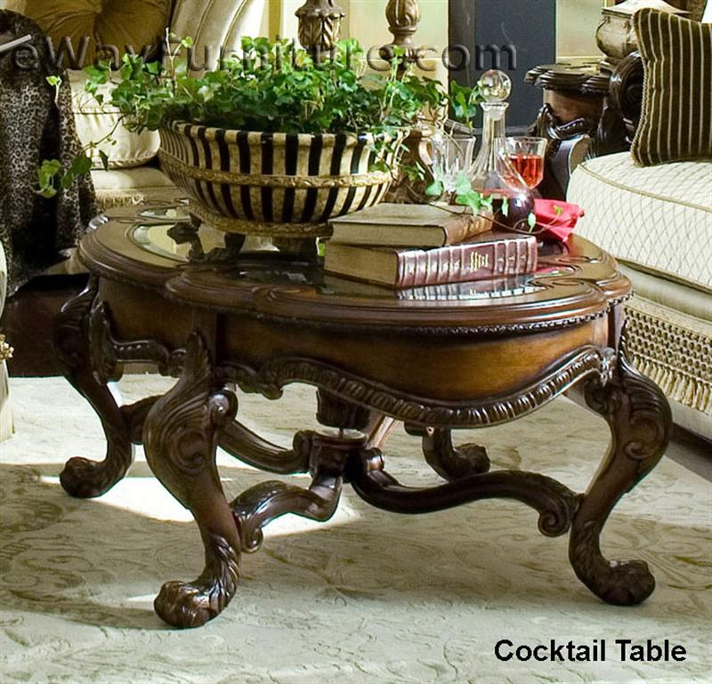 French Rococo Coffee Table: French Rococo Cocktail Table
