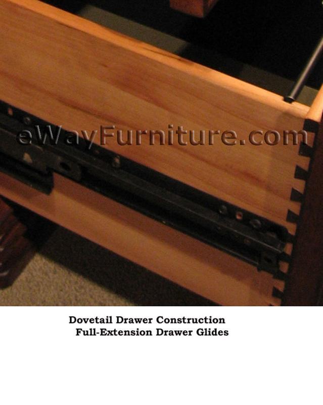 Aspenhome Warm Cherry Executive Modular Home Office: Warm Cherry Executive Modular Home Office Furniture Set