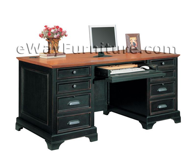 Cape cod executive home office desk - Executive home office furniture sets ...