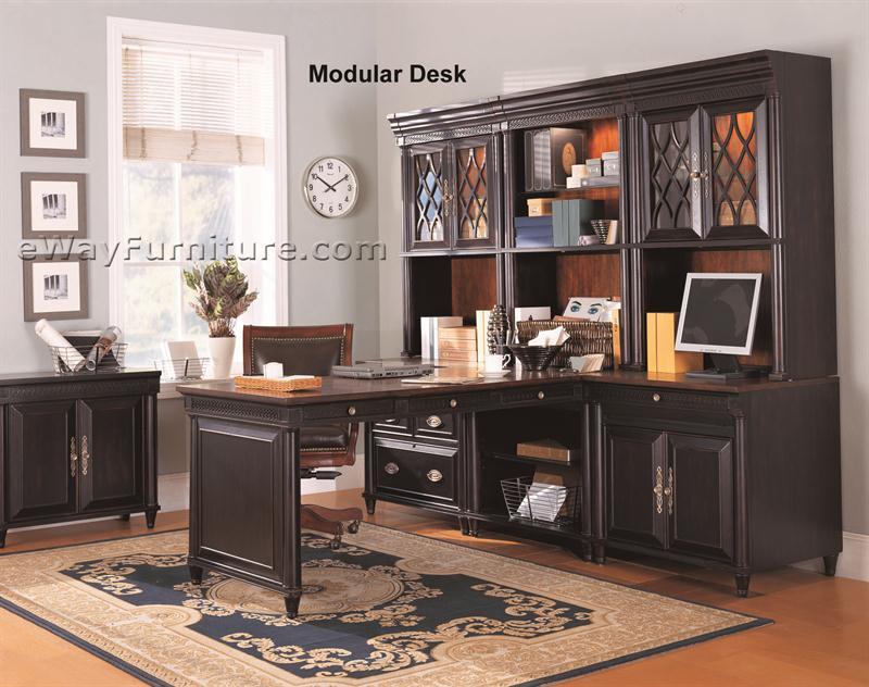 surprising home office furniture ideas | American Federal Executive Modular Office Wall Desk