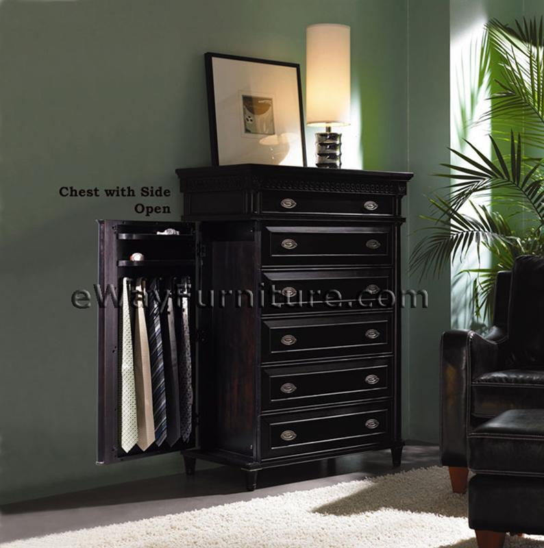 A black dresser yong