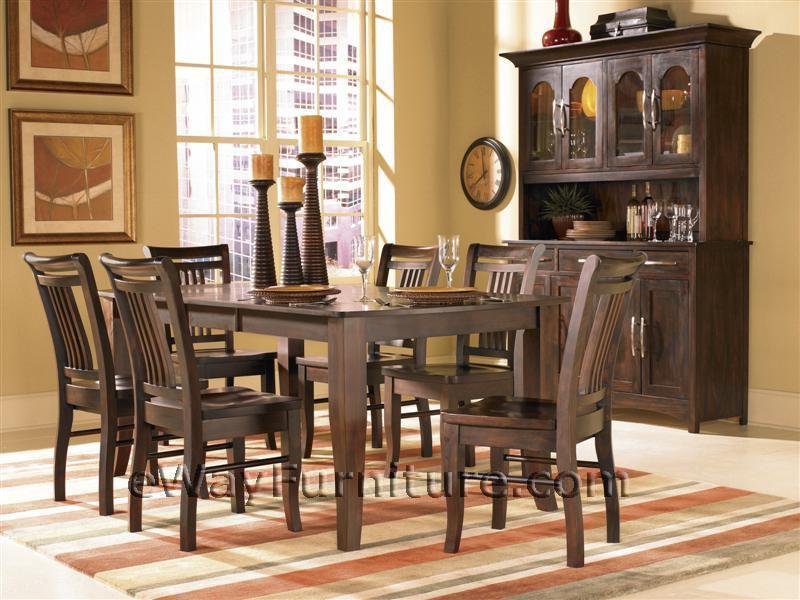 satin espresso dining room set