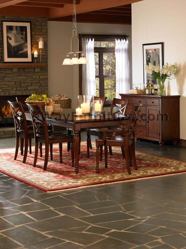 Romantic Dining Room: Romantic Simplicity Leg Table Dining Room Set