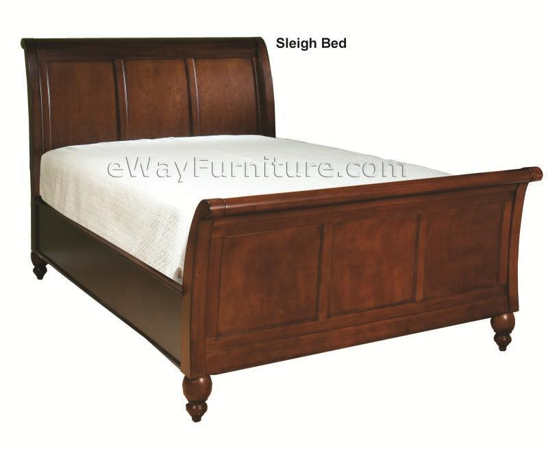 Romantic simplicity black sleigh bed bedroom set for All black bedroom furniture