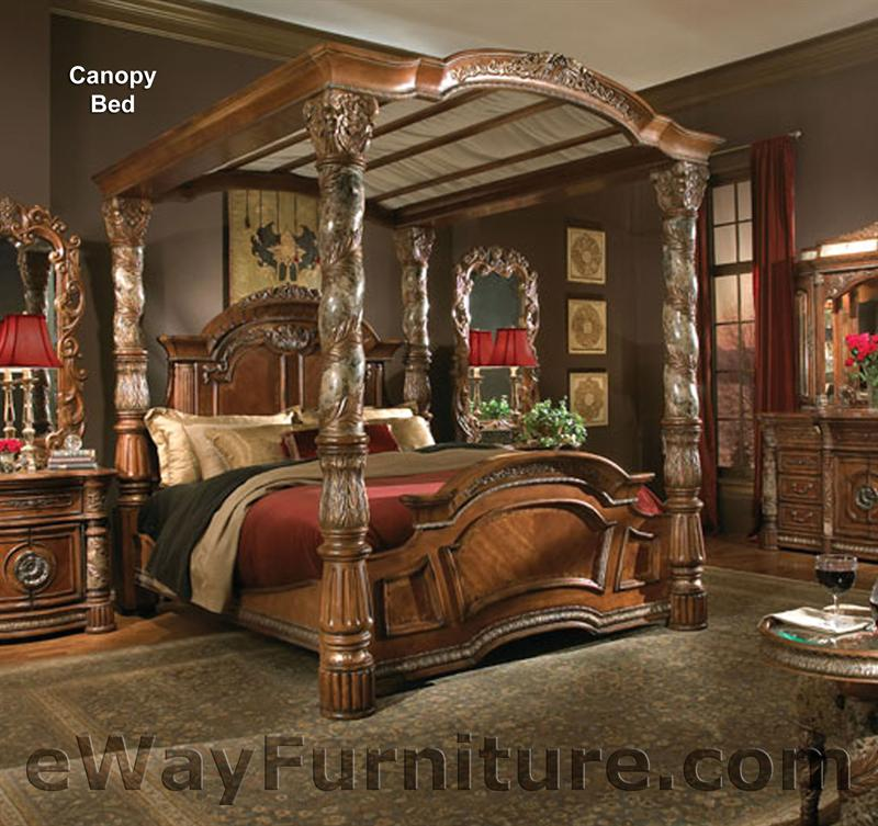 Isabella Canopy Bed Bedroom Set