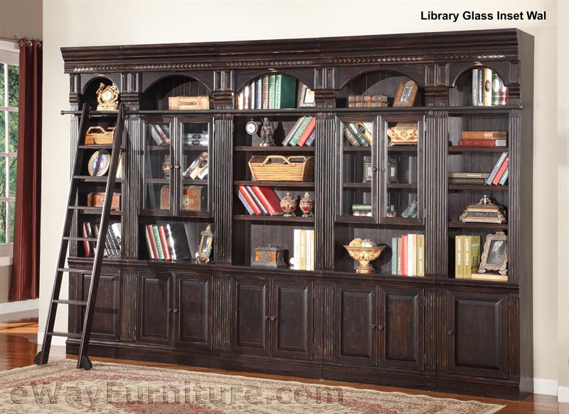 Library Bookcase With Ladder – Library Bookcase with Ladder