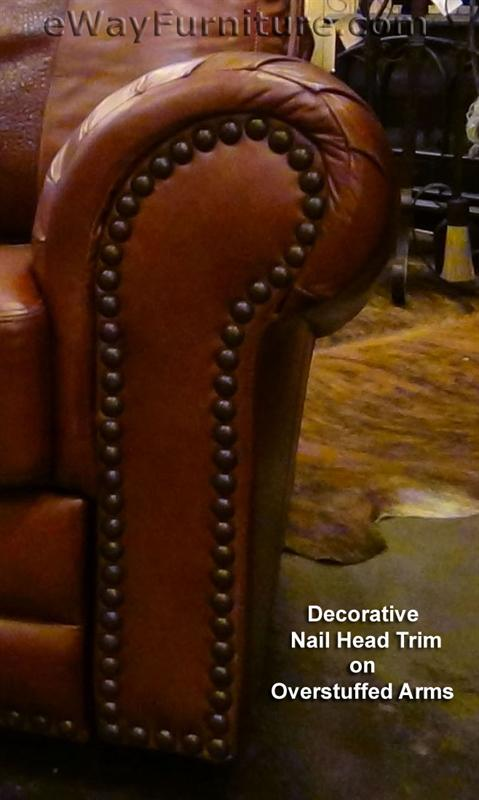 overstuffed leather club chair 100 hand cut top grain leather recliner made in usa texas