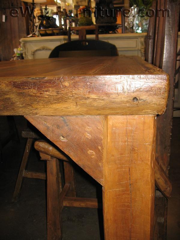 Ranch House Teak Dining Table Set