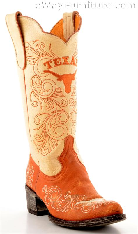 kitchen buffets and cabinets womens ut two toned gameday boots 18172