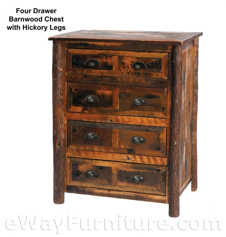 barndoor style oak barnwood bed bedroom set