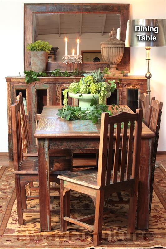 Handmade Nantucket Dining Table Set