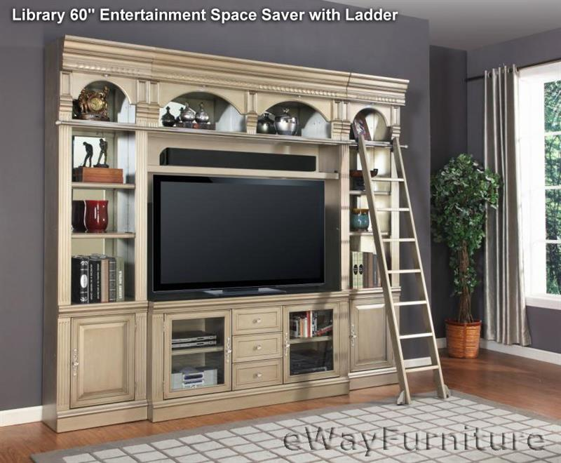 Allure Library 60 Space Saver With Ladder