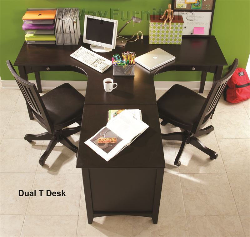 Two person desks
