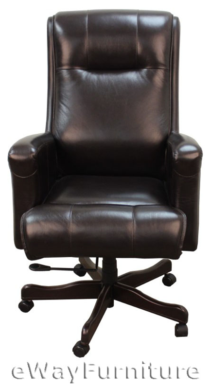basic cabinets leather desk chair 10961