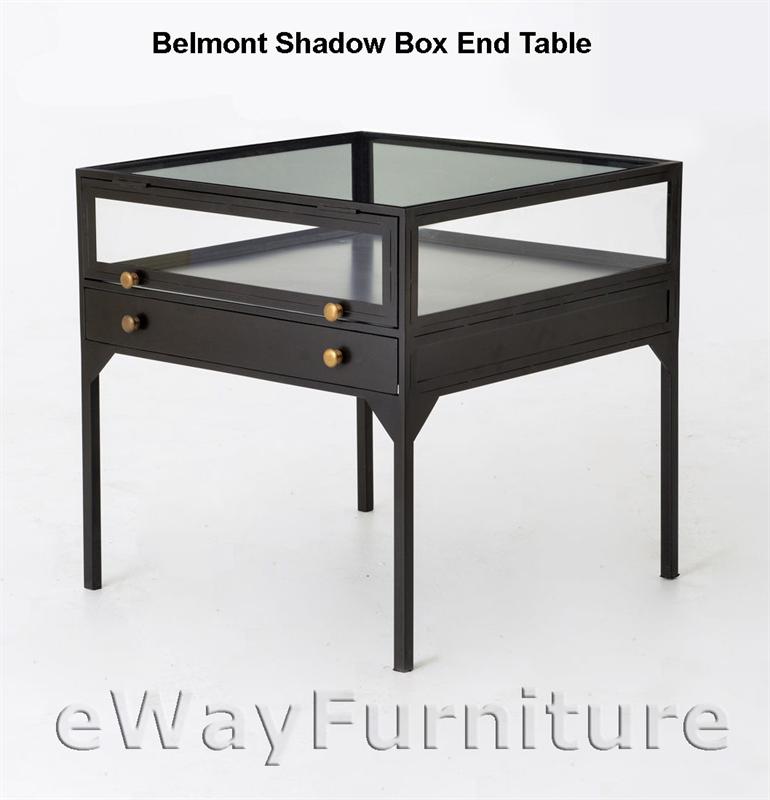 Belmont Shadow Box End Table-FHBEL-SBET