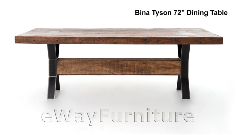 bina tyson 72 inch dining table