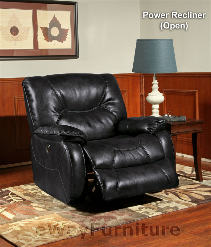 Parker Living Argus Black Power Recliner