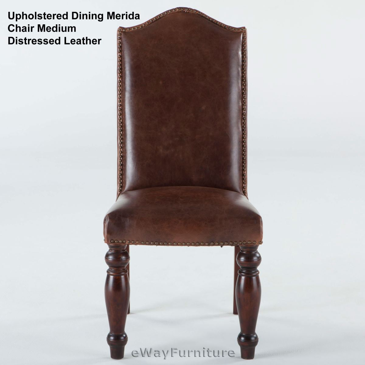 Base package quantity upholstered dining merida chair medium distressed leather