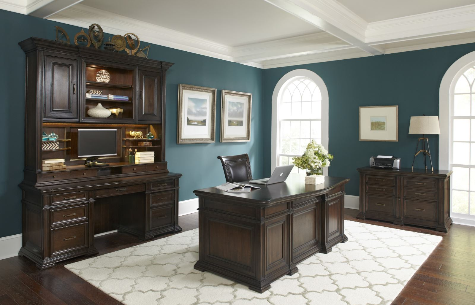 Base Package Quany 74 Inch Executive Desk