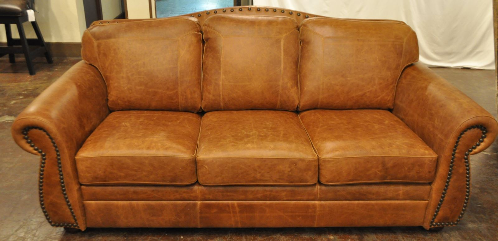 Superb 100 Top Grain Made In Usa The Look Leather Sofa In Fargo Gamerscity Chair Design For Home Gamerscityorg