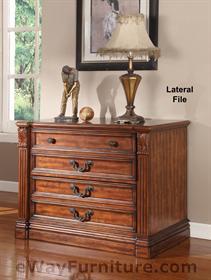 Grand Manor Granada Double Pedestal Executive Desk Home Office Furniture Ebay