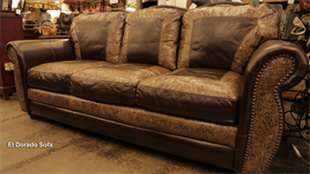 el dorado hand cut top grain leather sofa made in usa texas. beautiful ideas. Home Design Ideas